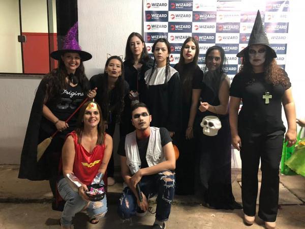 31 de outubro Halloween na Wizard de Ponta Porã