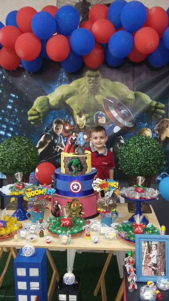 Aniversário de 4 anos do pequeno Daniel Cordeiro Montiel