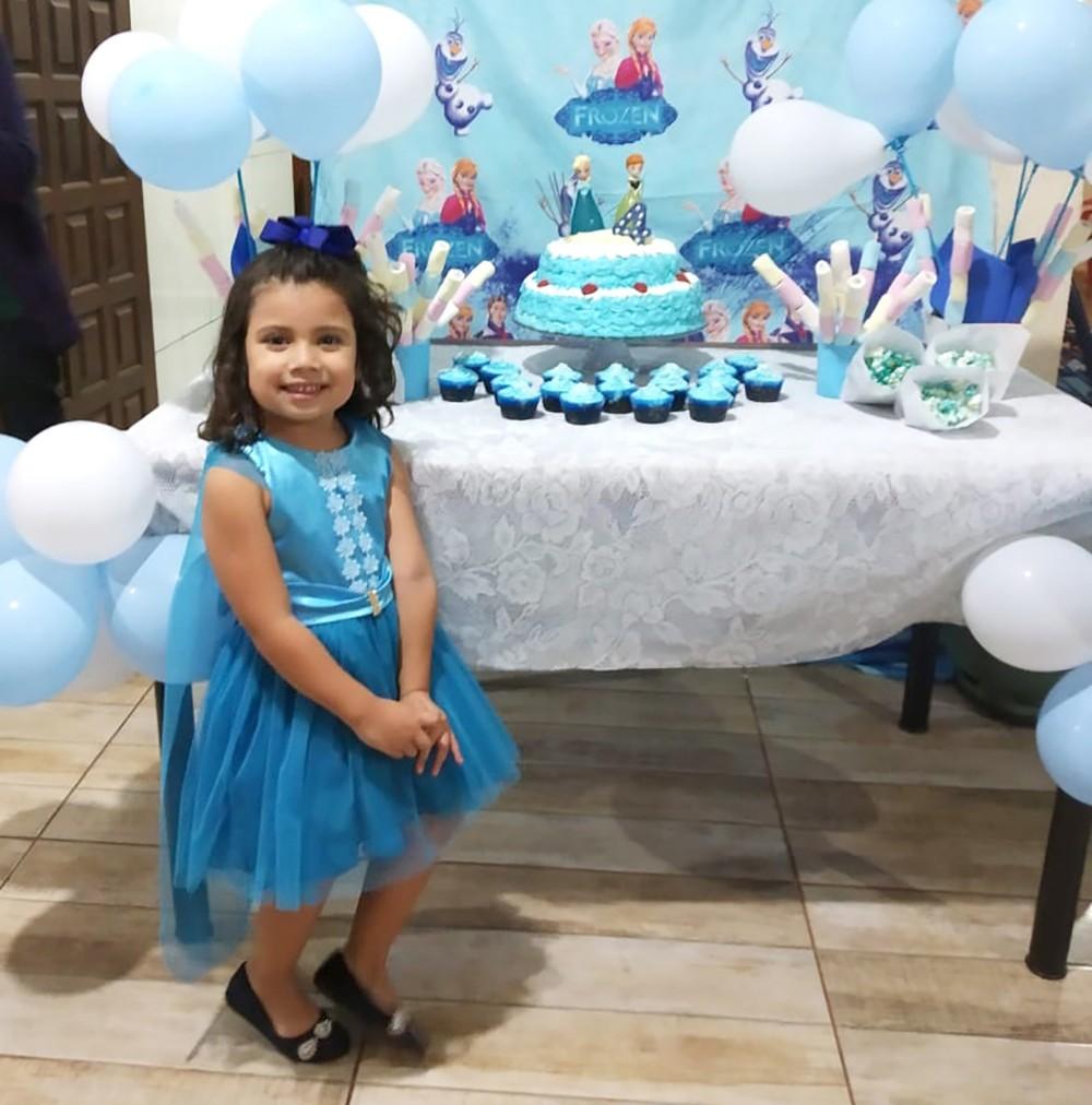 Aniversário de 4 anos de Paula Gabriely de Souza Calonga