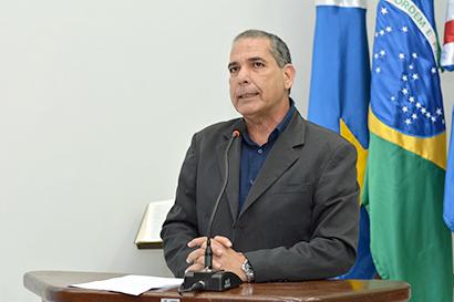 Presidente da Câmara Vereador Otaviano Cardoso