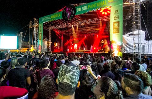 Festival começou a sofrer baixas a partir de ontem - Foto: Clóvis Neto / Prefeitura de Corumbá
