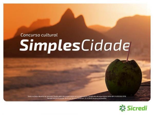 Sicredi prorroga inscrições do concurso fotográfico Simples Cidade