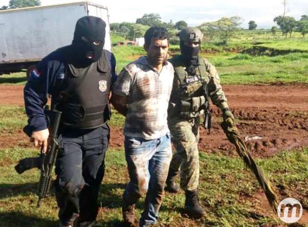 Agentes antinarcoticos encabezaron el operativo