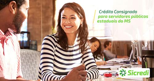Sicredi Centro-Sul MS disponibiliza crédito consignado para servidor público estadual do MS