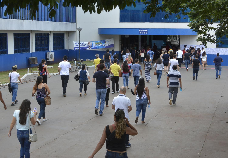 Concursos mobilizam milhares em Campo Grande - Foto: Paulo Ribas/Arquivo