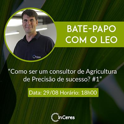 Bate Papo com o Léo será no dia 29 de agosto, ao vivo, à partir das 18h