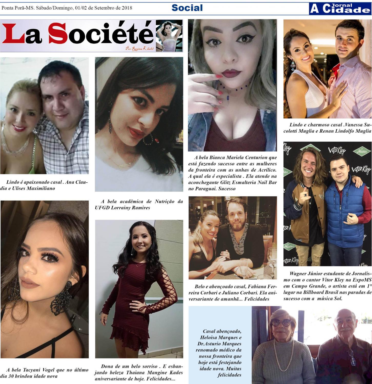 Coluna social La Société