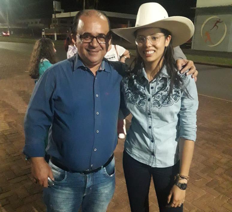 Edilson José Alves e Morgana Rodrigues