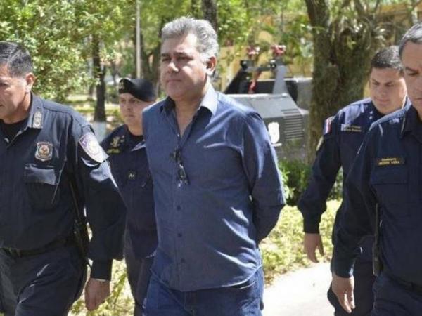 Jarvis Pavão que seria extraditado na quinta-feira (Foto: ABC Color)