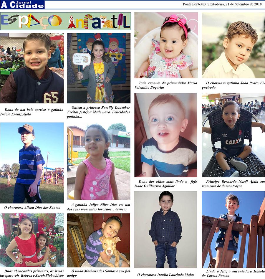 Coluna social infantil