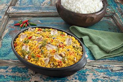 Além de rápida, a receita é muito saborosa - Foto: DIVULGAÇÃO/COQUEIRO