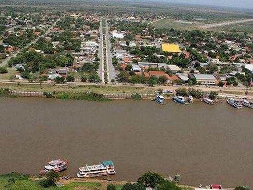 Porto Murtinho, em MS, ganhará ligação rodoviária com o Paraguai por meio de ponte ©Toninho Ruiz/Arquivo