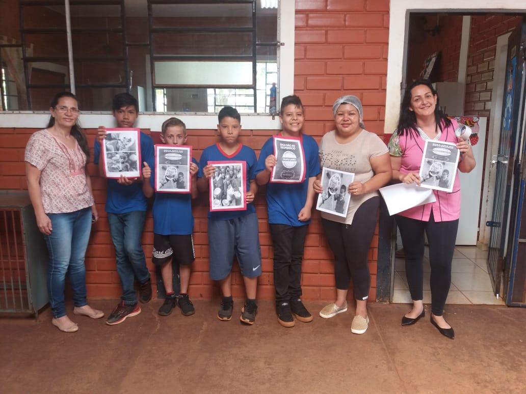Texto jornalístico desperta interesse pela leitura e escrita na Escola Marcondes Fernandes