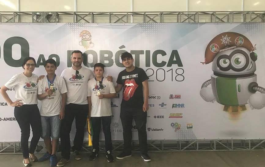 Ponta Porã finalista no nacional de robótica