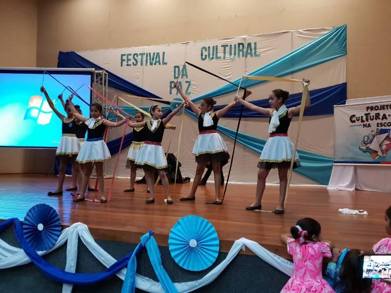 """Prefeitura realiza """"Festival Cultural pela Paz"""""""