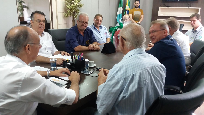 Hélio Peluffo recebeu a patronagem do CTG Querência da Saudade