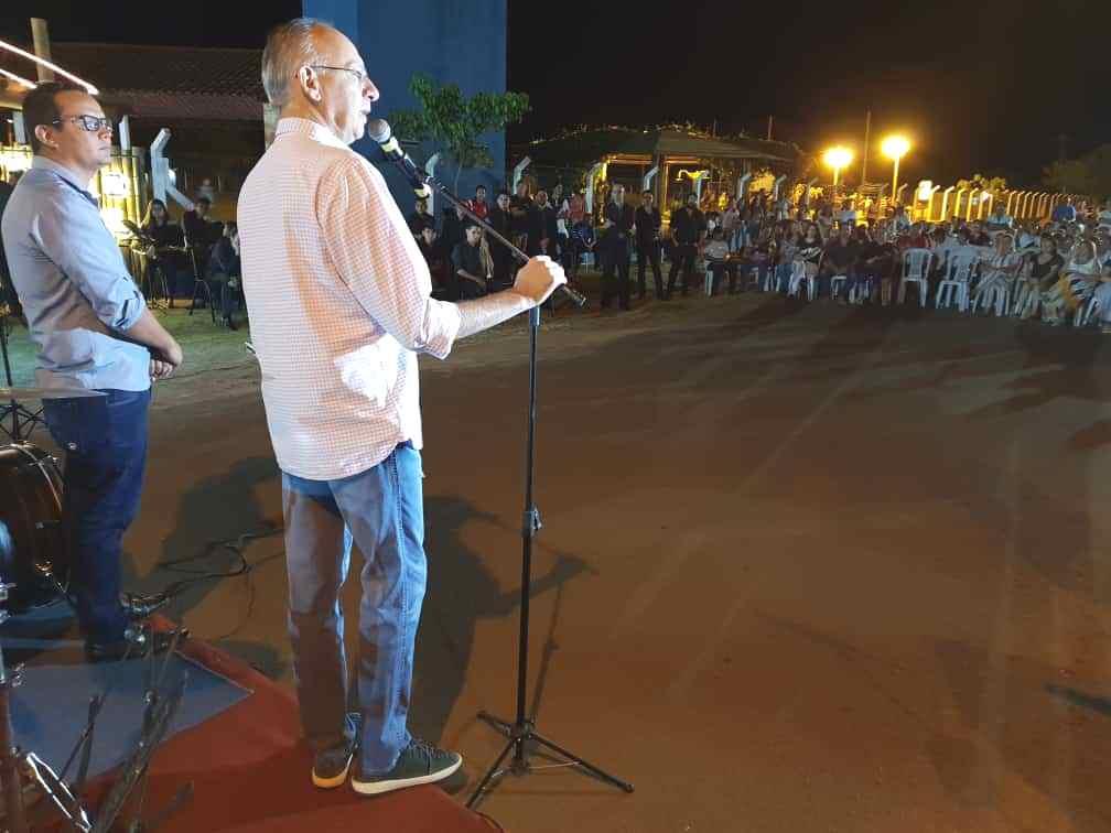 Sanga Puitã viveu noite inédita com Cantata de Natal
