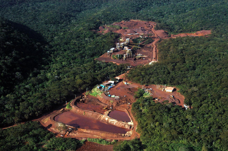 Barragem de minério em Corumbá - Foto: Arquivo/Correio do Estado