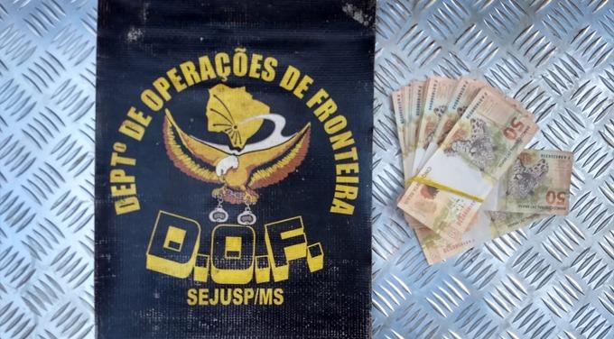 Preso com R$ 10,5 mil em notas falsas diz que dinheiro era para massagem