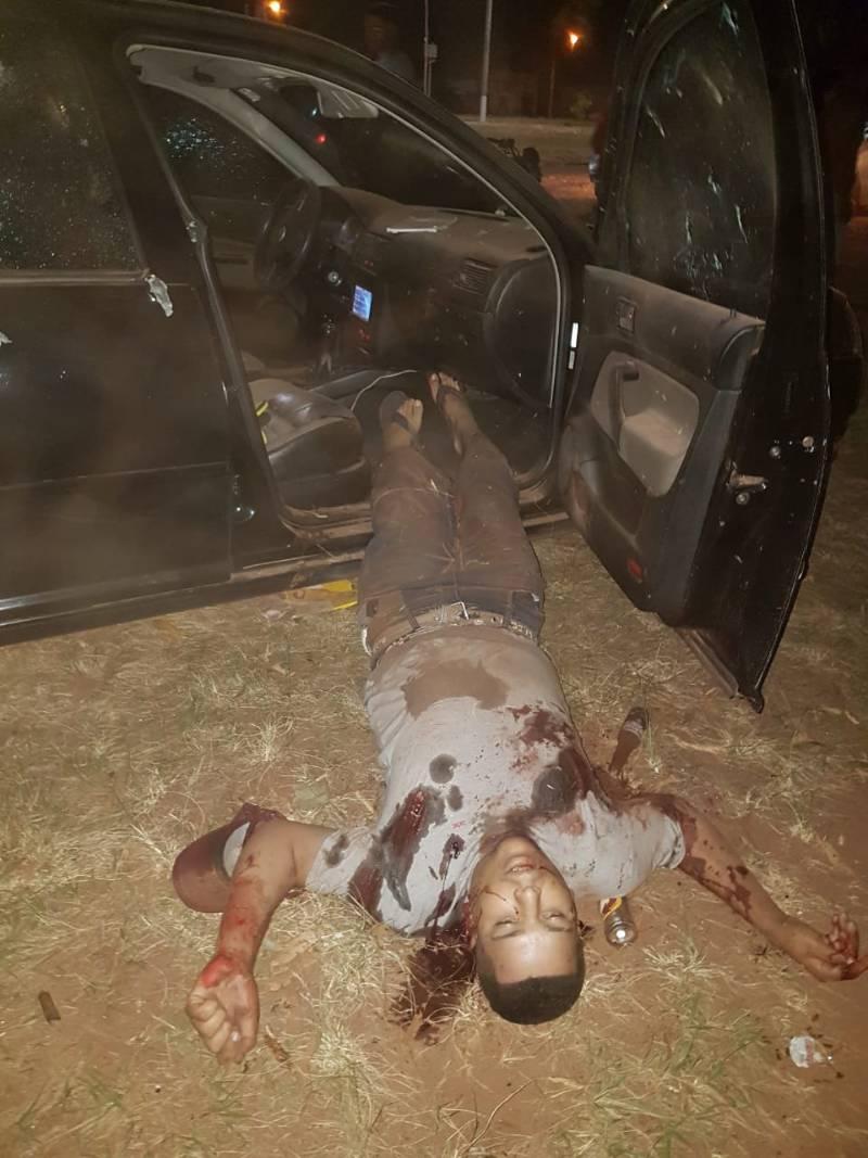 Trio é executado a tiros de fuzil na região de fronteira