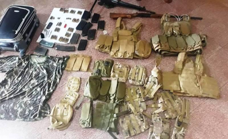 Dois acabam presos com armas, munições e várias evidências relacionadas ao caso na fronteira