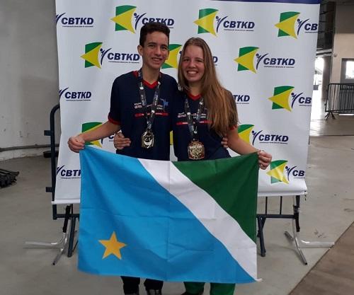 Taekwondo de MS coloca dois atletas na seleção brasileira juvenil