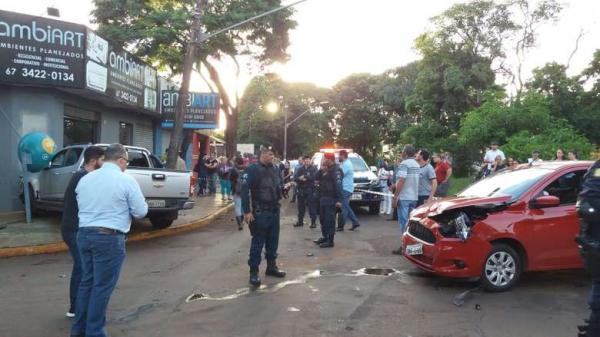 Empresário de turismo fica ferido ao ser baleado na rua Cuiabá