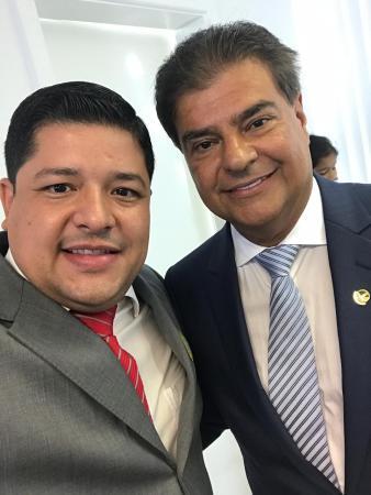 Vice-prefeito Caio Augusto no  comando estadual do PSD/MS