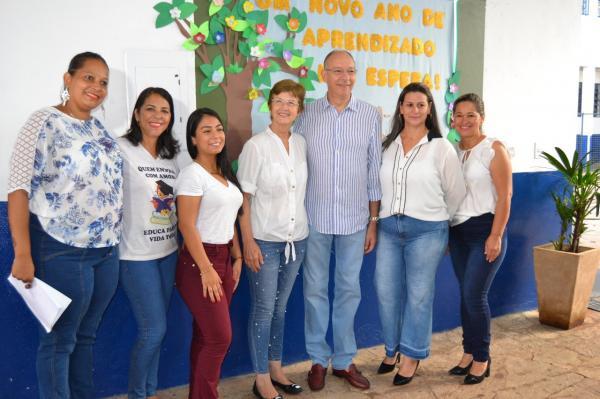 Semana Pedagógica marcou início do ano letivo na Escola Municipal Orlando Mendes Gonçalves