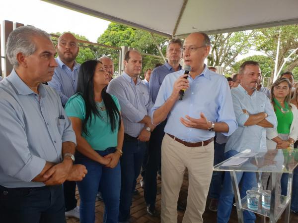 Prefeito Hélio destaca investimentos do Estado