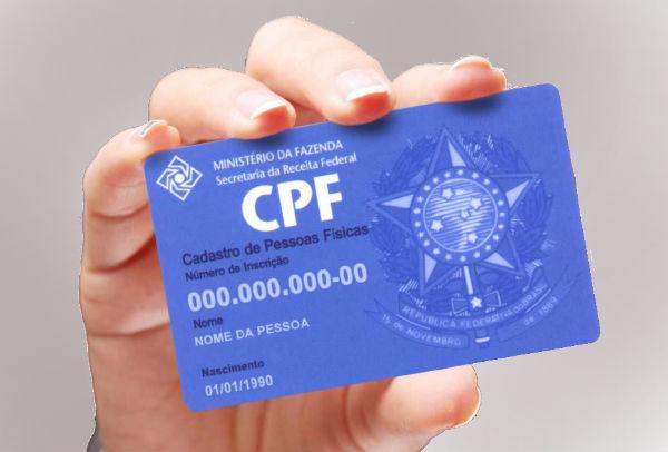 Implementação do uso do CPF como documento único