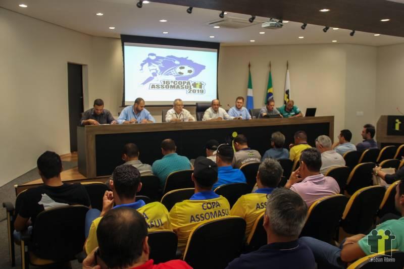 Arbitral define regras da 16ª Copa Assomasul de futebol