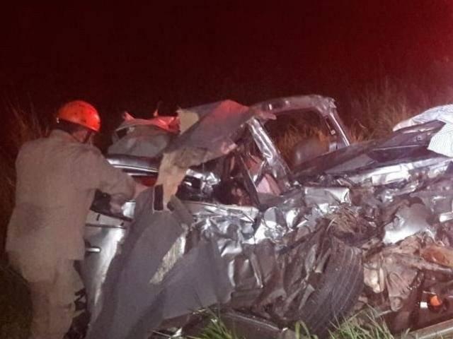 Morre terceira vítima de colisão na 060; todos eram da mesma família