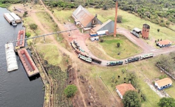 MS já movimentou algo em torno de 6 milhões de toneladas pelos portos no passado - Foto: Toninho Ruiz