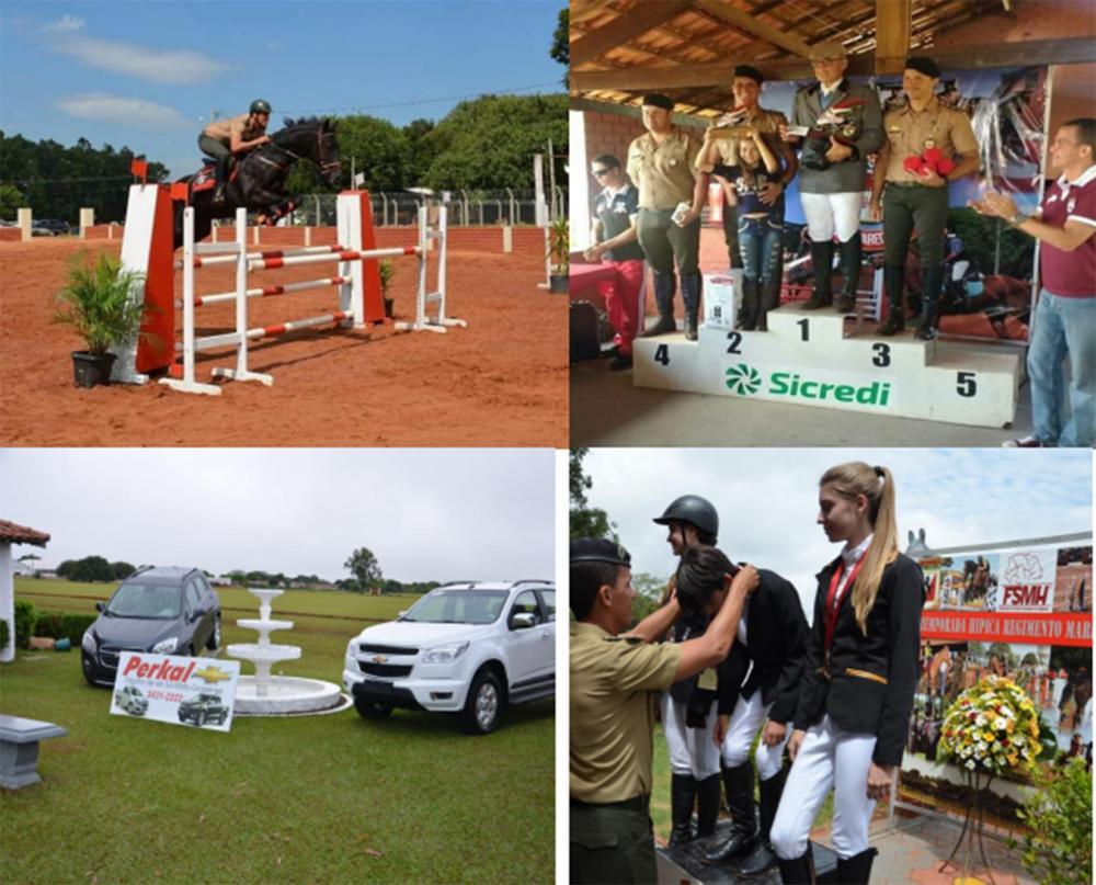 Fotos de alguns eventos realizados pelo 11º RC Mec