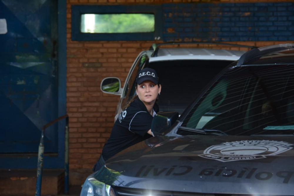 Operação investiga central de operações do PCC - Foto: Bruno Henrique/Correio do Estado