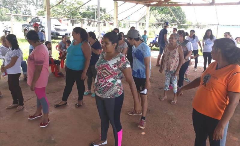 Prefeitura realiza projeto ´Vida Saudável´ em assentamentos