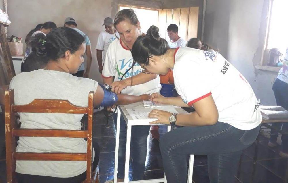 Projeto Vida Saudável leva atendimentos à comunidade rural