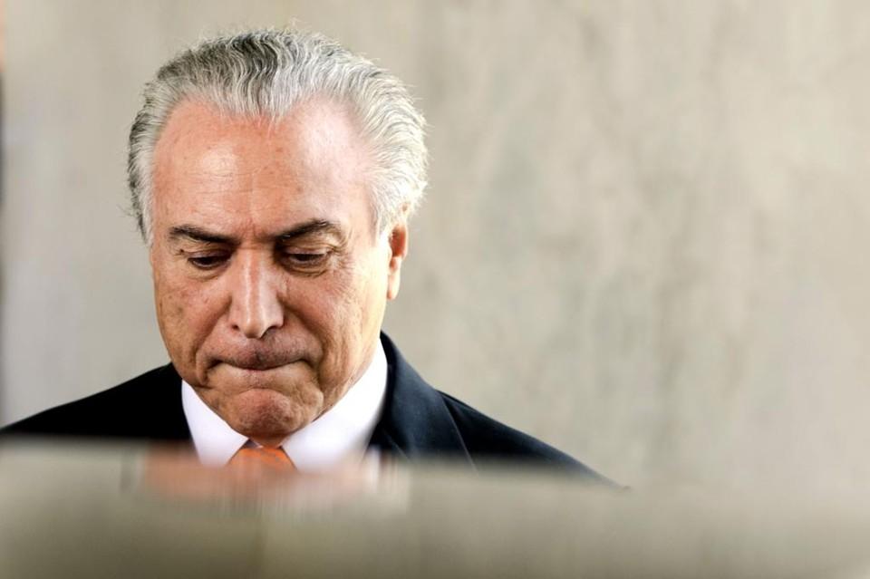 Ex-presidente Michel Temer foi preso - Foto: G1