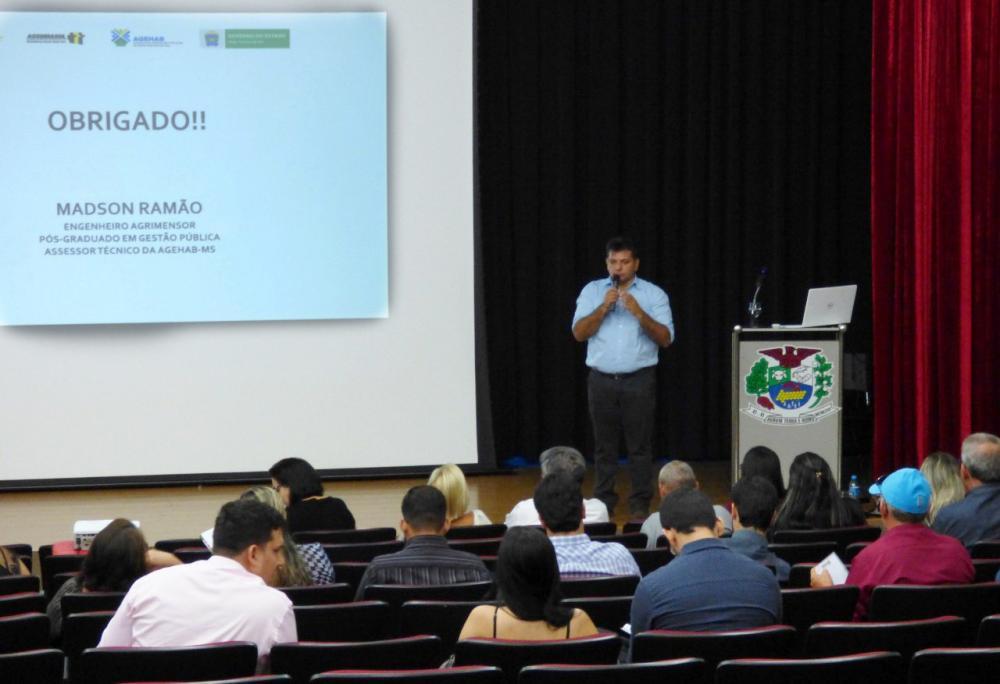 Curso foi aberto na quarta em Jateí (Fotos: Lucas Moura: Decom/Jateí)