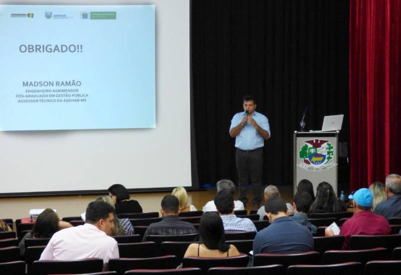 Curso de Regularização Fundiária Urbana corresponde expectativas em Jateí