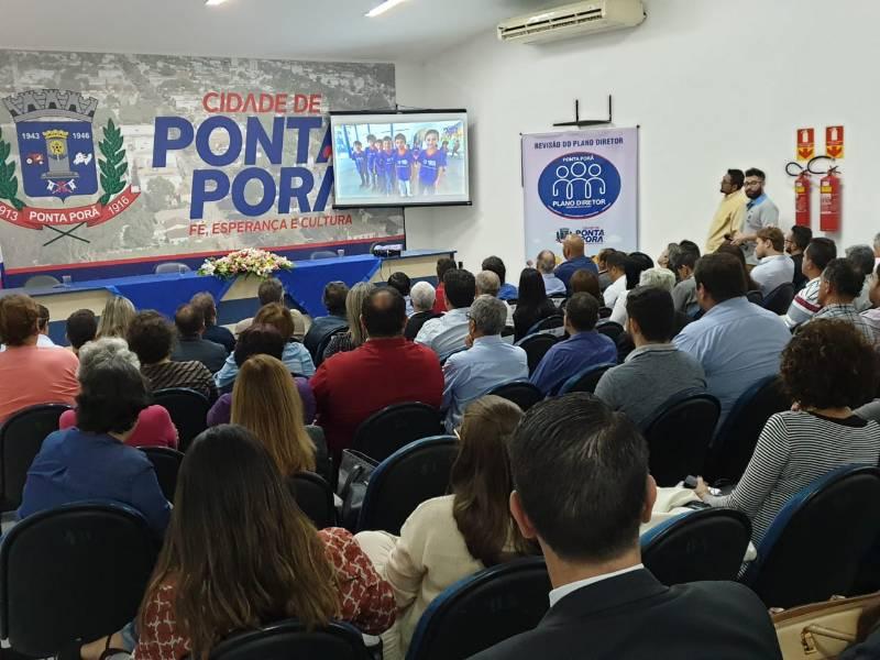 """""""Nossa missão é preparar o futuro"""", diz prefeito Hélio na revisão do Plano Diretor"""