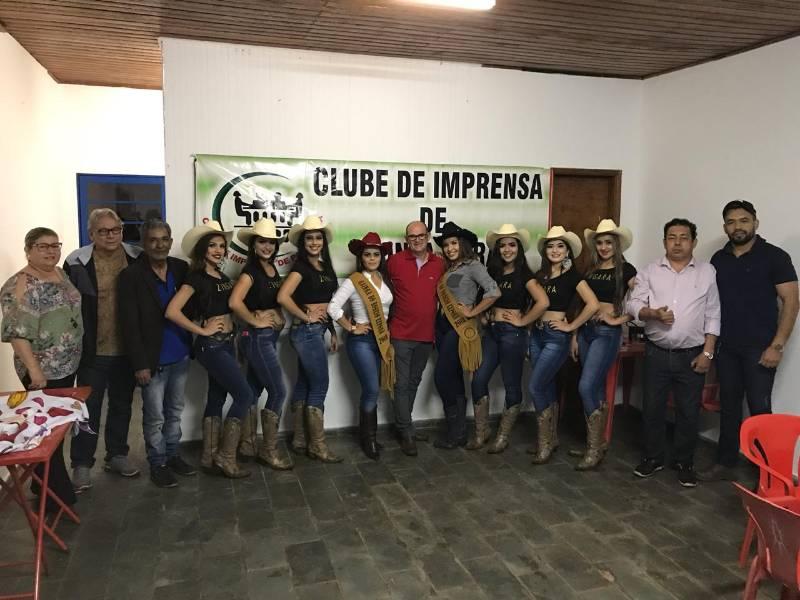 Clube de Imprensa recepcionará autoridades e visitantes na 45ª Exporã