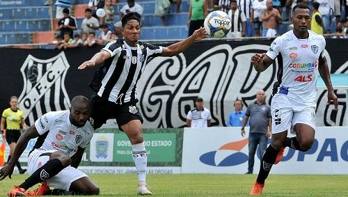 Operário e Corumbaense duelaram pelo Estadual 2019, com vitória do Galo por 2 a 0 - Foto: Valdenir Rezende / Arquivo / Correio do Estado