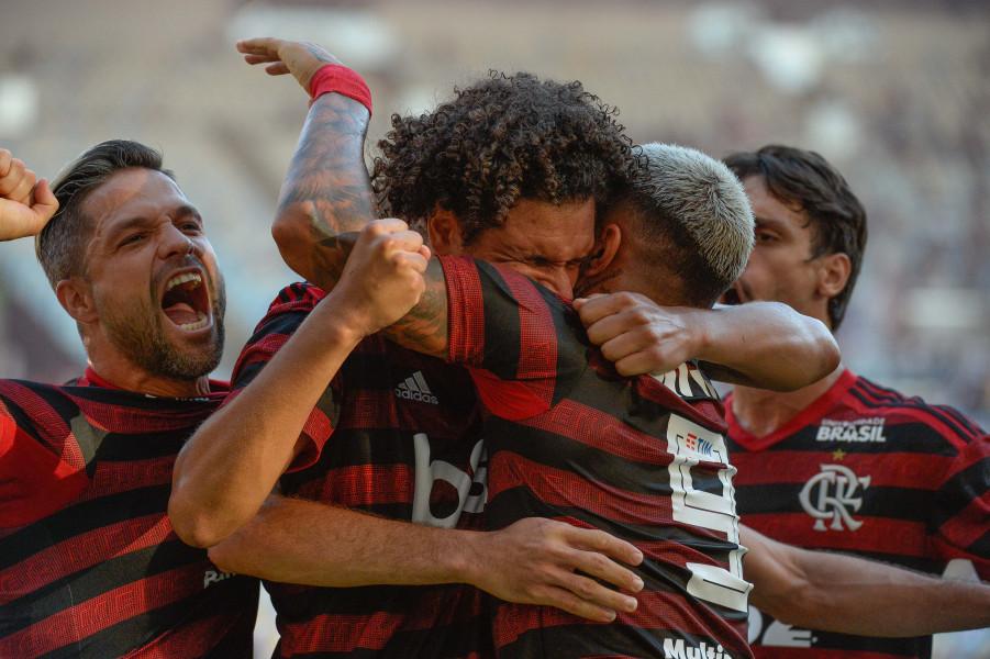 A equipe rubro-negra já havia vencido o jogo de ida por 2 a 0 - Foto: Alexandre Vidal / Flamengo