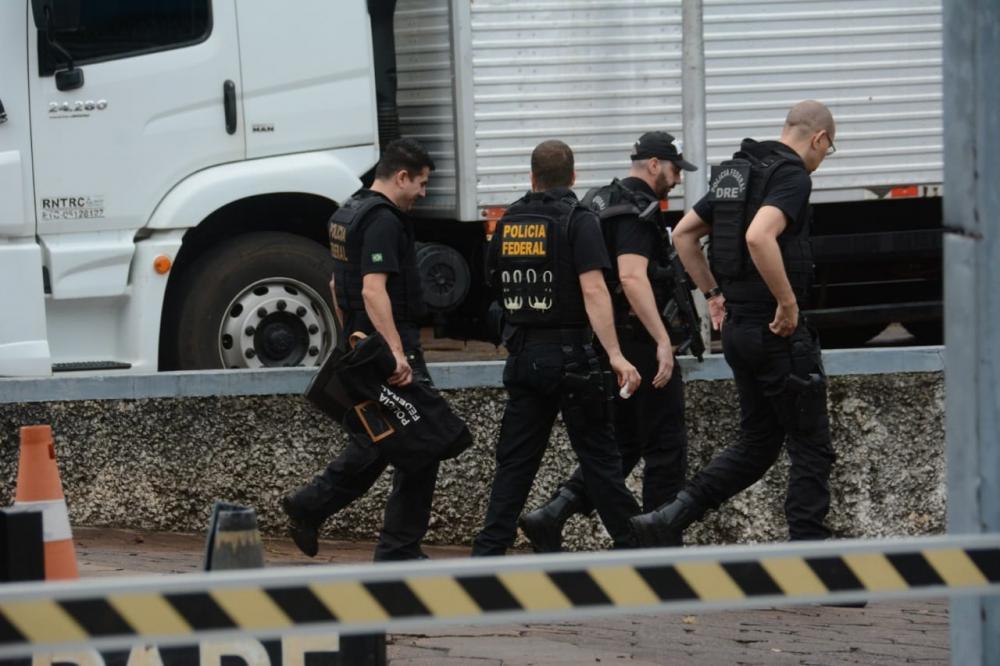 Um dos alvos da operação foi condomínio no Jardim TV Morena - Foto: Bruno Henrique/Correio do Estado