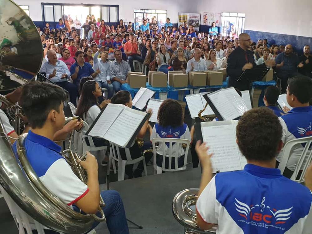 Escola ´Zaíra Portela´ está ampliada e reformada, com 10 novas salas de aula, em um total de dezesseis