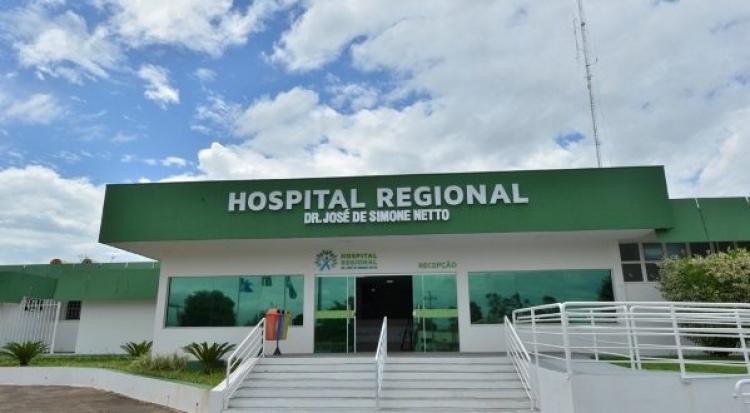 Hospital Regional Dr. José de Simone Netto de Ponta Porã - Foto: Divulgação