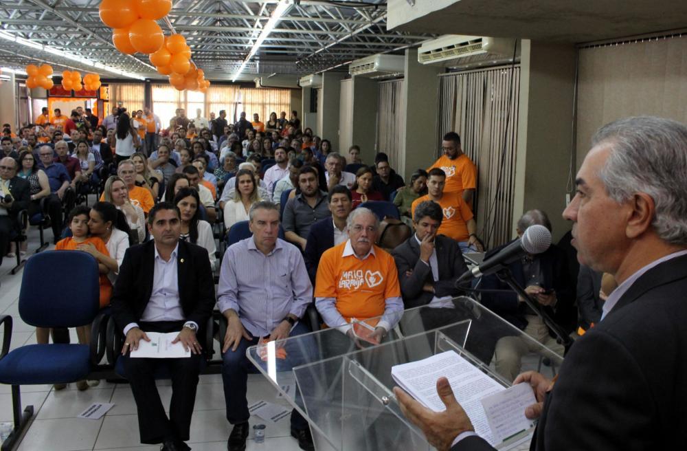 Governador fez declarações durante lançamento de campanha do Maio Laranja - Foto: Chico Ribeiro/Governo