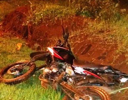 Maxiliano Daniel Estigarribia Ximenes (23) transitava a bordo de uma motocicleta da marca Star